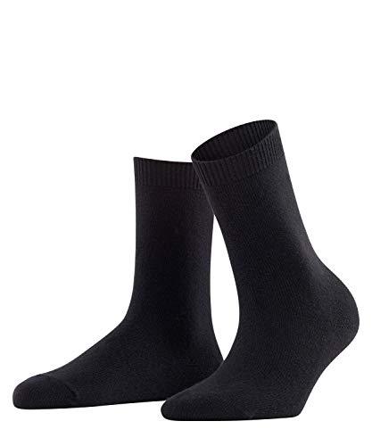 FALKE Damen Socken, Cosy Wool W SO-47548, Schwarz (Black 3009), 35-38