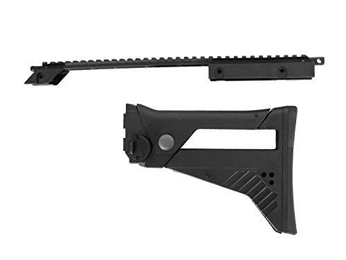 S&T Airsoft ST316 IDZ Conversion Set (Tragebügel + Schaft) -schwarz-