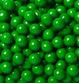 Sweetworks Dark Green Sixlets 1 lb Bag