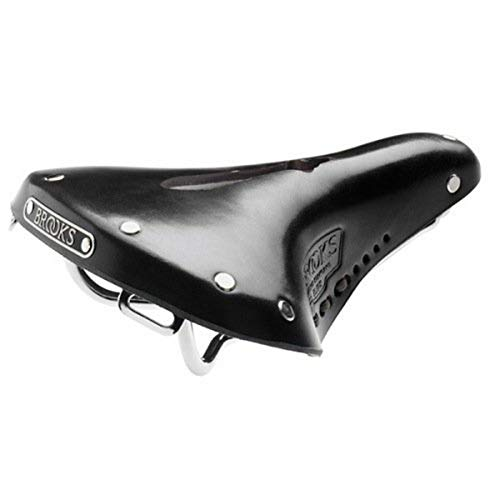 Brooks B17 S Imperial - Sillín de bicicleta urbana, color negro, modelo para mujeres