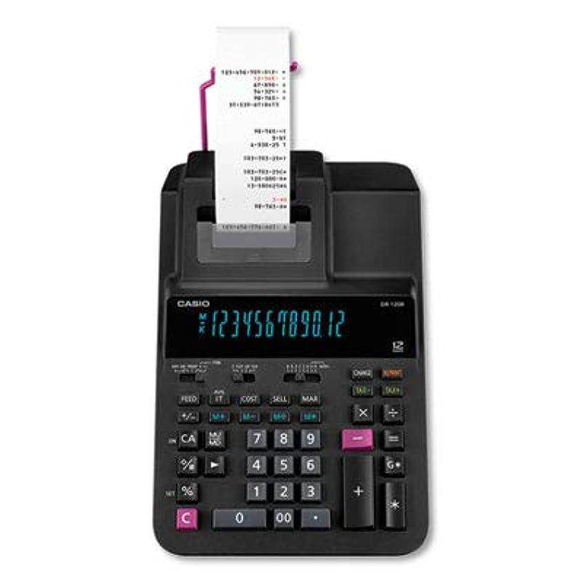 見る繊毛ロッカーDR-120R 印刷電卓 2プリント 3.5ライン/SEC