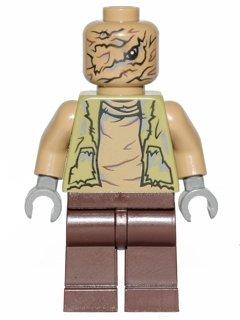 LEGO Minifigura bruta de Star Wars Unkar – Split de DK Book – (bolsa)