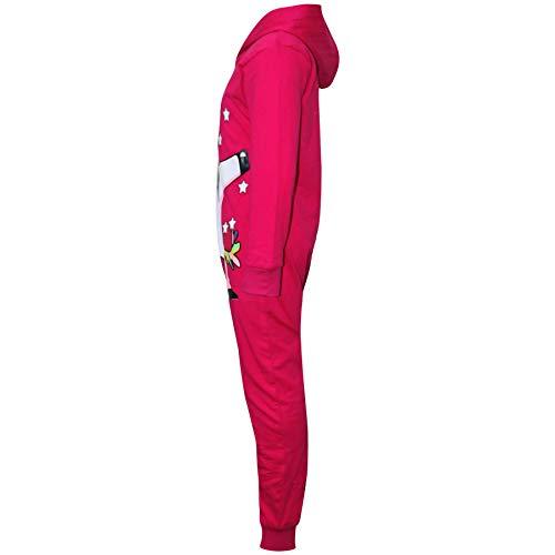 A2Z-4-Kids-Kids-Girls-100-Cotton-Onesie-Pink-Dabbing-Unicorn-Starts-Print-All-in-One-Jumpsuit-Playsuit-Nightwear-New-Age-5-6-7-8-9-10-11-12-13-Years