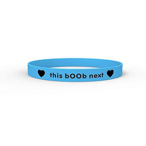New Breastfeeding Nursing Bracelet Reminder Glow in The Dark (Blue)
