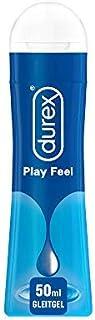 Durex Play Feel glidgel på vattenbas – lätt, silkeslen glidgel för känsla av känsla – 1 x 50 ml i den praktiska dosflaskan