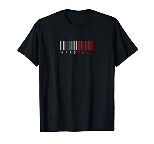 Strichcode Hardtekk Tekk - Bass Stampfen Abriss T-Shirt