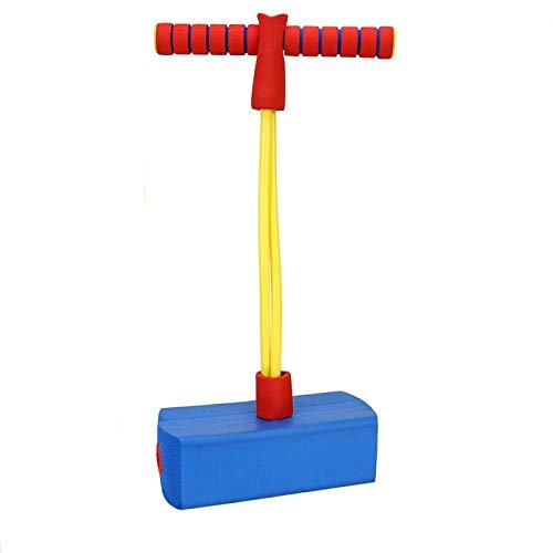 AMZYY Movimiento de Juguetes para niños, Palitos de Pogo para niñas, Juegos de Bungee Jumper, Juguetes Que Rebotan para Mayores de 3 años, Pascua,Blue