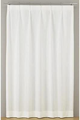 川島織物セルコン レースカーテン アイボリー 100×148cm
