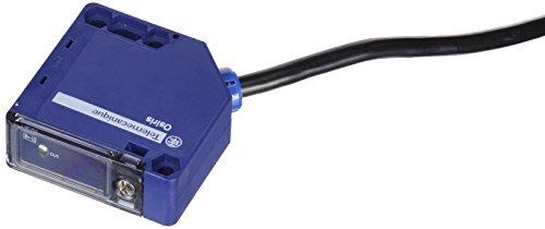Schneider Electric XUK1ARCNL2H60 Detector Fotoeléctrico de Plástico XUK Monitorización del Caudal, Compacto 50 x 50, 7 m Alcance Nominal, 1 O/1 F, 2 m Cable, 24-240V AC/DC