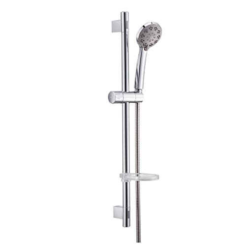 Salle de bains douche peut soulever trois types de douche voie d'eau de tête