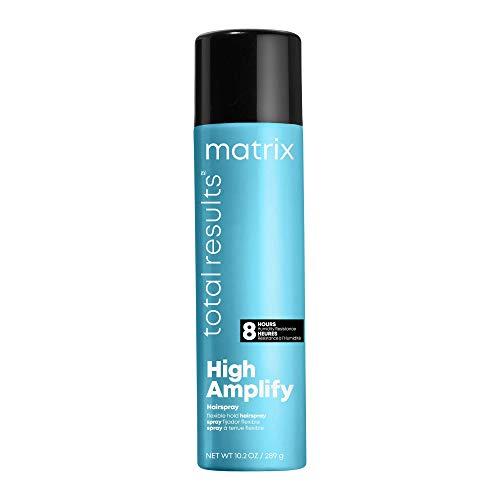 MATRIX Total Results High Amplify Flexible Hold Hairspray, Creates All Over Volume & Enhances Shine, for Fine Hair, 10.2 Oz