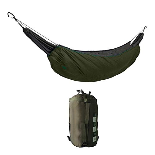 Hammocks Hammock-type sleeping bag double hammock thick cold portable convenient removable outdoor indoor nap camp for bedding park storage bag with folding hammock for a quilt warm cover for winter h