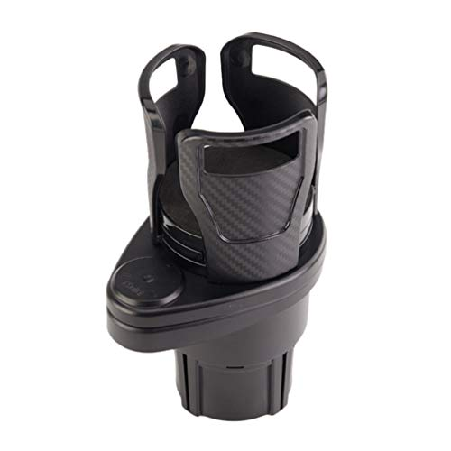 BESPORTBLE Autotassenhalter Expander Autoteleskop Wasserflasche Getränkebehälter Auto Kaffeetasse Aufbewahrungsorganisator für Kraftfahrzeuge (Ruß)