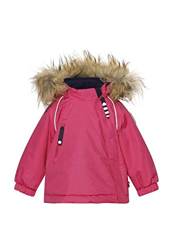 Racoon Unisex-Baby Drytown Winter Jacket AW, Beetroot PINK, 98