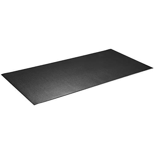 """High Density Sport Equipment Mat-Treadmill Mat, Exercise Bike Mat, Fitness Mat, Elliptical Mat, Jump Rope Mat, Gym Mat Use On Hardwood Floors and Carpet Protection (31.5""""x 59""""x 0.24"""")"""