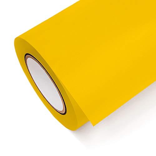 Klebefolie Oracal 631-021 Gelb matt | Maße 100cm x 1m | Klebefolie günstig in 1A Qualität von SalierShop