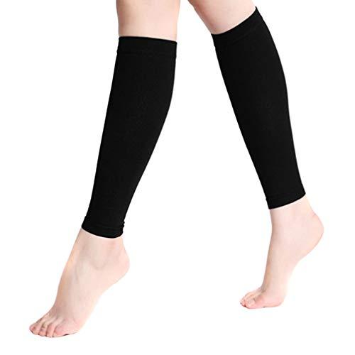 EXCEART 1 Paar Kompression Socken Hohe Kompression Socken Knie Kompression Socken Knie Sport Socken Kühlen Elastische Socken für Sport Läufer