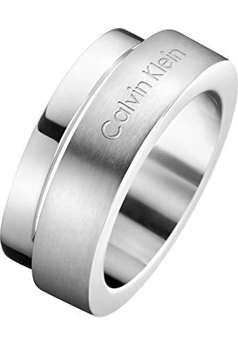 Calvin Klein Damenring Unite Edelstahl Ring KJ6AMR080107 Ringgröße 54/17,2