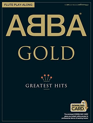 ABBA Oro Greatest Hits Flauta Play-Along Partituras