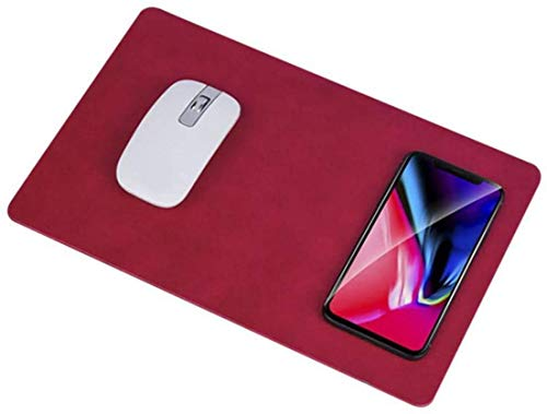 LY88 Snelle draadloze oplader muismat draadloos opladen, QI Wireless Pad Stationmat voor iPhone XS / XR / X / 8 voor Galaxy Note 8 S8 S8 Plus S7 Edge, G.