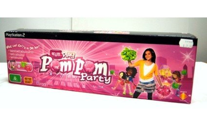 EYE TOY PLAY POMPOM PARTY PLAYSTATION 2