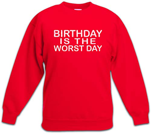 Urban Backwoods Birthday Is The Worst Day Kinderen Jongens Meisjes Sweatshirt Pullover Trui