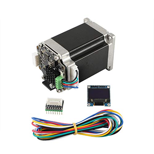 MeterMall 3D printer STM32 57 Closed Loop Stepper Motor MKS SERVO57B With Adapter To Directly Connect To Mainboard No screen