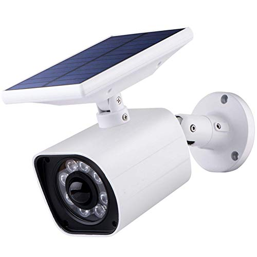 Fake IP Camera Op Zonne-Energie Lamp Outdoor Simulation Dummy Camera Waterdicht Op Zonne-Inductie Garden Light Wall Light 8 LED