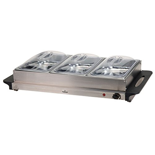 Buffetwarmer met warmhoudplaat 300W (DSS-DS10233)