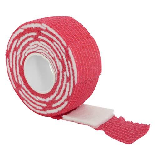 Gel polish remover wraps, rood. Voor het verwijderen van Gel lak/Gellak/Gel polish/Soak off gel/Gel nagellak.