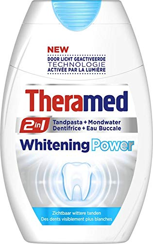 Theramed 2 In 1 Power Whitening Tandpasta, 75 ml
