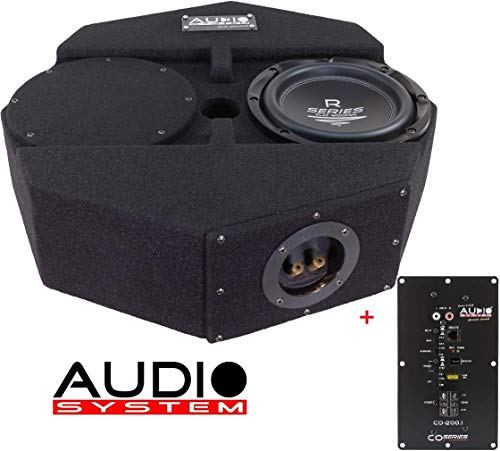 Audio System SUBFRAME R08 Flat Active Subwoofer + Monoendstufe Active RSERIES SUBFRAME
