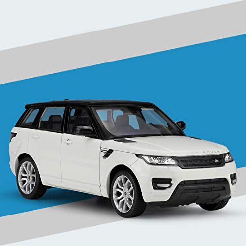 Jackson Wang Legering auto model decoratie, 1:24 Land Rover Range Rover Sport Edition simulatie legering model ornament