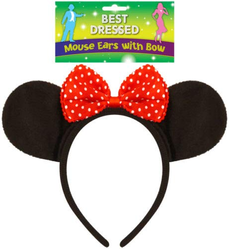 Micky Minnie Mouse Oren Haarbanden Hoofdband Fancy Dress{12 verschillende kleuren} Hen Party Night Halloween Fancy Dress Meisjes Verjaardag Party
