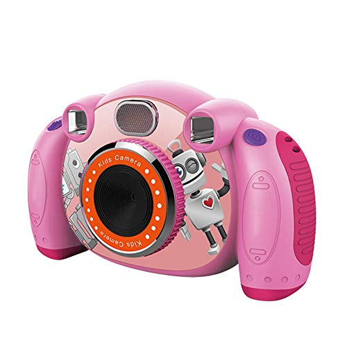 Festnight Kids Camera Kinder-Camcorder HD 2 '' met anti-slip SD-kaart en anti-drop-design kindercamera's voor meisjes en jongens
