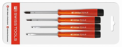 PB Swiss Tools PB 1620 CN Set One Way Screwdriver - Manual Screwdrivers & Sets (Red)