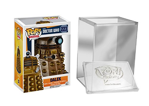 FunKo Pop: TV: Doctor Who - Dalek Vinyl Action Figure Protective Case
