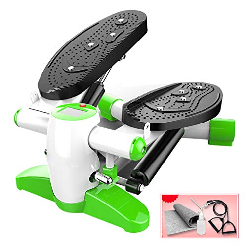 LYzpf Draagbare stepper stapper fitness bar mini cardio training trainingsapparaat sportapparaat krachttraining stepper voor training op kantoor thuis
