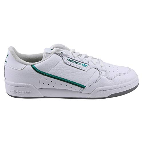 ADIDAS ORIGINALS CONTINENTAL 80 Sneakers hommes Wit/Groen - 38 - Lage sneakers