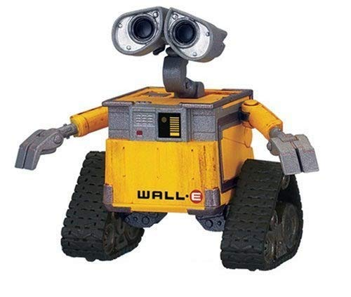 Ly-Figures Robot Wall-E Figura de acción - 6cm ( Color : Clean Ver )