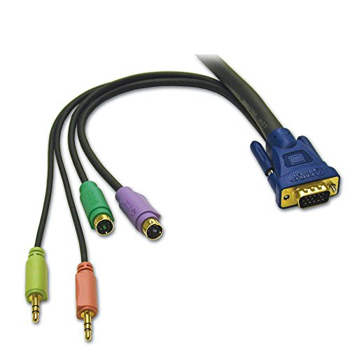 Cables To Go Ultima 5-in-1 KVM HD15 VGA M/M kabel met volume/microfoon (10m)