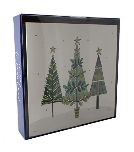 Box of 8 Winter Wonderland Christmas Cards In 2 Designs Xmas Card Packs
