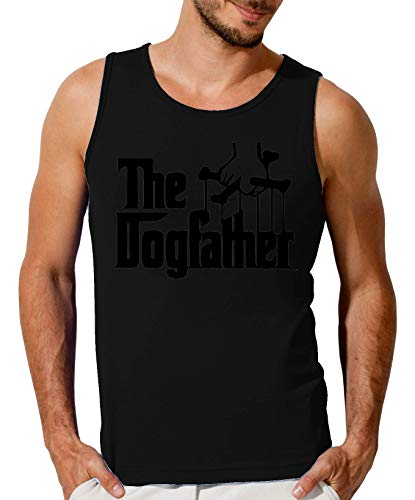 The Dogfather Logo Camiseta sin Mangas para Hombre