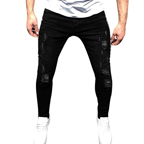 Minikimi heren broek Cargo Chino Jeans Stretch Jogger sportbroek Slim-Fit joggingbroek Straight denim jeans Streetwear