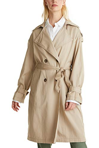ESPRIT casual trenchcoat uit Lyocell-mix