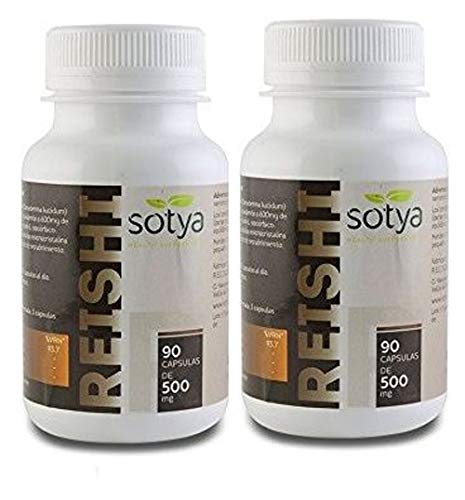 REISHI 500mg 90cap PACK 2 UNIDADES