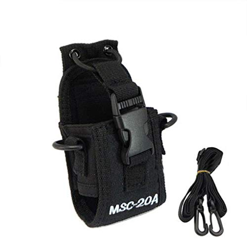 MSC-20A Walkie Talkie caso funda para GP328 + Wouxun KG-UV8D radio CB BAOFENG UV-5R UV-5RE más UV-B5 UV-82 Bobury