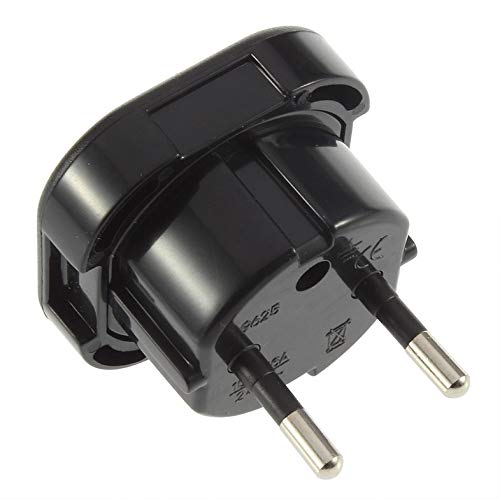 BianchiPatricia Universal UK to EU AC Power Travel Plug Adapter Socket Converter 10A/16A 240V