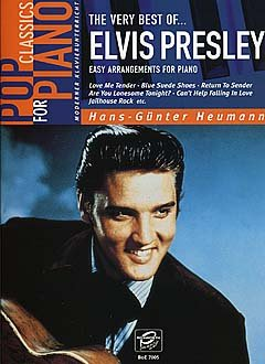 VERY BEST OF - gearrangeerd voor piano [noten / Sheetmusic] Componist PRESLEY ELVIS uit de serie: POP CLASSICS FOR PIANO