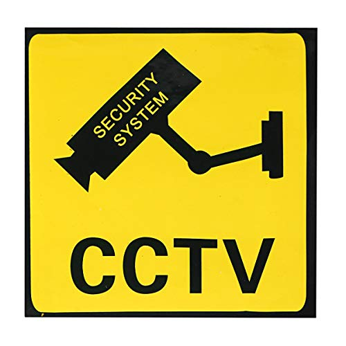 ILS CCTV bewakingscamera sticker waarschuwing systeem security monitor decal